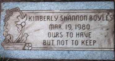 BOYLES, KIMBERLY SHANNON - Coconino County, Arizona | KIMBERLY SHANNON BOYLES - Arizona Gravestone Photos