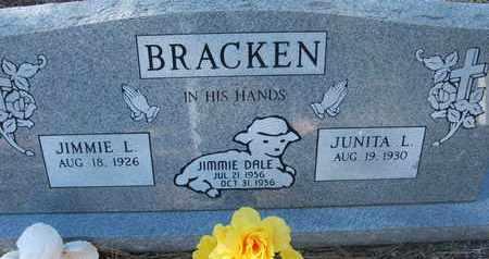 BRACKEN, JIMMIE DALE - Coconino County, Arizona | JIMMIE DALE BRACKEN - Arizona Gravestone Photos