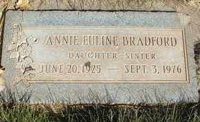 BRADFORD, ANNIE EULINE - Coconino County, Arizona | ANNIE EULINE BRADFORD - Arizona Gravestone Photos