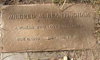BRANTINGHAM, MILDRED M. - Coconino County, Arizona   MILDRED M. BRANTINGHAM - Arizona Gravestone Photos