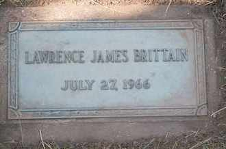 BRITTAIN, LAWRENCE JAMES - Coconino County, Arizona | LAWRENCE JAMES BRITTAIN - Arizona Gravestone Photos