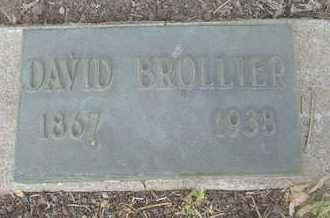 BROLLIER, DAVID - Coconino County, Arizona   DAVID BROLLIER - Arizona Gravestone Photos