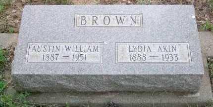 BROWN, AUSTIN WILLIAM - Coconino County, Arizona | AUSTIN WILLIAM BROWN - Arizona Gravestone Photos