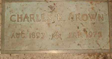BROWN, CHARLES R. - Coconino County, Arizona   CHARLES R. BROWN - Arizona Gravestone Photos