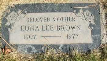 BROWN, EDNA LEE - Coconino County, Arizona | EDNA LEE BROWN - Arizona Gravestone Photos
