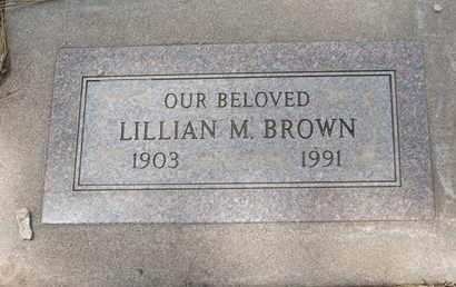 BROWN, LILLIAN M. - Coconino County, Arizona   LILLIAN M. BROWN - Arizona Gravestone Photos