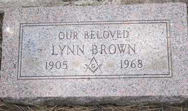 BROWN, LYNN - Coconino County, Arizona | LYNN BROWN - Arizona Gravestone Photos