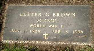 BROWN, LESTER G. - Coconino County, Arizona | LESTER G. BROWN - Arizona Gravestone Photos
