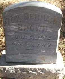 BROWN, ROY BERNARD - Coconino County, Arizona | ROY BERNARD BROWN - Arizona Gravestone Photos
