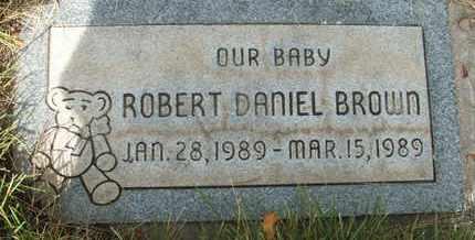 BROWN, ROBERT DANIEL - Coconino County, Arizona   ROBERT DANIEL BROWN - Arizona Gravestone Photos