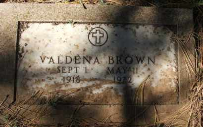 BROWN, VALDENA - Coconino County, Arizona | VALDENA BROWN - Arizona Gravestone Photos