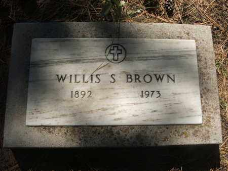 BROWN, WILLIS S. - Coconino County, Arizona | WILLIS S. BROWN - Arizona Gravestone Photos