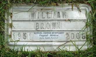 BROWN, WILLIAM - Coconino County, Arizona | WILLIAM BROWN - Arizona Gravestone Photos