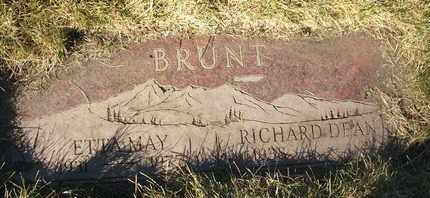 BRUNT, ETTA MAY - Coconino County, Arizona | ETTA MAY BRUNT - Arizona Gravestone Photos