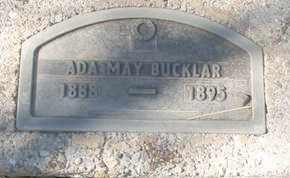 BUCKLAR, ADA MAY - Coconino County, Arizona   ADA MAY BUCKLAR - Arizona Gravestone Photos