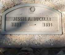BUCKLAR, JESSIE F. - Coconino County, Arizona | JESSIE F. BUCKLAR - Arizona Gravestone Photos