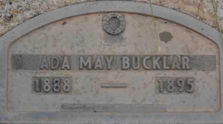 BUCKLAR, ADA MAY - Coconino County, Arizona | ADA MAY BUCKLAR - Arizona Gravestone Photos