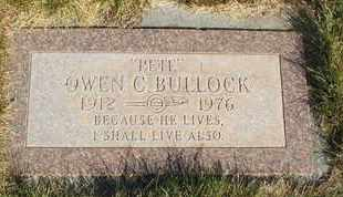 "BULLOCK, OWEN C. ""PETE"" - Coconino County, Arizona 