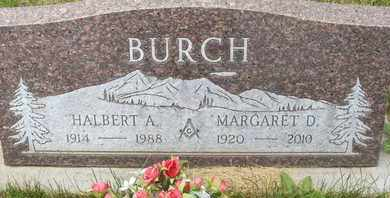BURCH, HALBERT A. - Coconino County, Arizona | HALBERT A. BURCH - Arizona Gravestone Photos