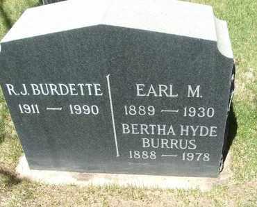 BURRUS, BERTHA - Coconino County, Arizona | BERTHA BURRUS - Arizona Gravestone Photos