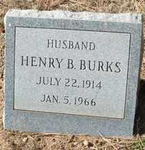 BURKS, HENRY B. - Coconino County, Arizona   HENRY B. BURKS - Arizona Gravestone Photos