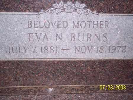 BURNS, EVA N, - Coconino County, Arizona   EVA N, BURNS - Arizona Gravestone Photos