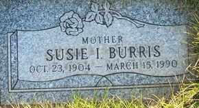 BURRIS, SUSIE I. - Coconino County, Arizona | SUSIE I. BURRIS - Arizona Gravestone Photos