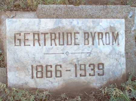 BYROM, GERTRUDE - Coconino County, Arizona   GERTRUDE BYROM - Arizona Gravestone Photos