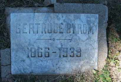 BYROM, GERTRUDE - Coconino County, Arizona | GERTRUDE BYROM - Arizona Gravestone Photos