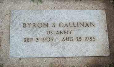 CALLINAN, BYRON S. - Coconino County, Arizona | BYRON S. CALLINAN - Arizona Gravestone Photos
