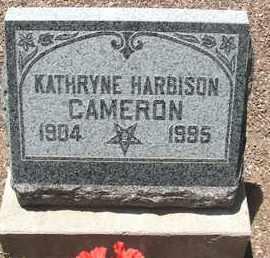 HARBISON CAMERON, KATHRYNE - Coconino County, Arizona | KATHRYNE HARBISON CAMERON - Arizona Gravestone Photos