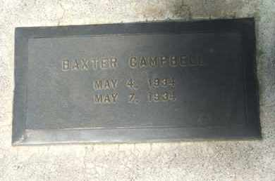 CAMPBELL, BAXTER - Coconino County, Arizona | BAXTER CAMPBELL - Arizona Gravestone Photos