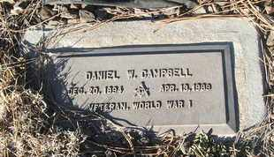 CAMPBELL, DANIEL W. - Coconino County, Arizona   DANIEL W. CAMPBELL - Arizona Gravestone Photos