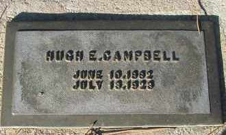 CAMPBELL, HUGH E. - Coconino County, Arizona | HUGH E. CAMPBELL - Arizona Gravestone Photos