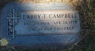 CAMPBELL, LARRY T. - Coconino County, Arizona | LARRY T. CAMPBELL - Arizona Gravestone Photos