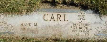 CARL, BUCK F. SGT. - Coconino County, Arizona   BUCK F. SGT. CARL - Arizona Gravestone Photos