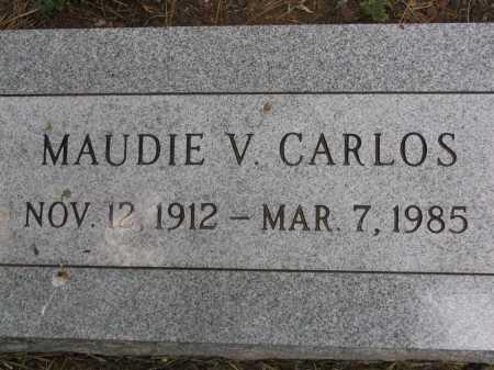 CARLOS, MAUDIE V. - Coconino County, Arizona | MAUDIE V. CARLOS - Arizona Gravestone Photos