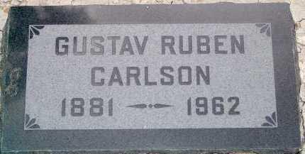 CARLSON, GUSTAV RUBEN - Coconino County, Arizona | GUSTAV RUBEN CARLSON - Arizona Gravestone Photos