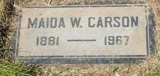 CARSON, MAIDA W. - Coconino County, Arizona   MAIDA W. CARSON - Arizona Gravestone Photos
