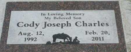 CHARLES, CODY JOSEPH - Coconino County, Arizona | CODY JOSEPH CHARLES - Arizona Gravestone Photos