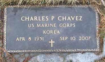 CHAVEZ, CHARLES P. - Coconino County, Arizona | CHARLES P. CHAVEZ - Arizona Gravestone Photos