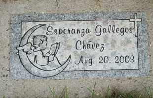 CHAVEZ, ESPERANZA GALLEGOS - Coconino County, Arizona   ESPERANZA GALLEGOS CHAVEZ - Arizona Gravestone Photos