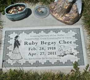 CHEE, RUBY - Coconino County, Arizona | RUBY CHEE - Arizona Gravestone Photos