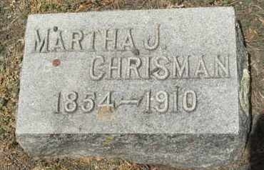CHRISMAN, MARTHA J. - Coconino County, Arizona | MARTHA J. CHRISMAN - Arizona Gravestone Photos
