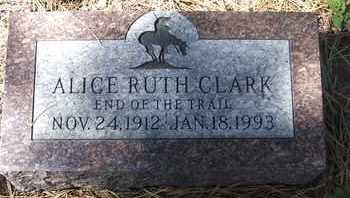 CLARK, ALICE RUTH - Coconino County, Arizona | ALICE RUTH CLARK - Arizona Gravestone Photos