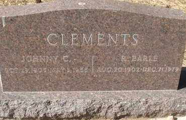CLEMENTS, JOHNNY C. - Coconino County, Arizona | JOHNNY C. CLEMENTS - Arizona Gravestone Photos