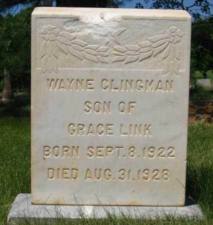 CLINGMAN, WAYNE - Coconino County, Arizona | WAYNE CLINGMAN - Arizona Gravestone Photos