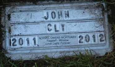 CLY, JOHN - Coconino County, Arizona | JOHN CLY - Arizona Gravestone Photos