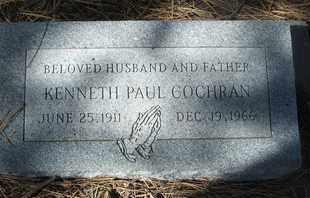 COCHRAN, KENNETH PAUL - Coconino County, Arizona   KENNETH PAUL COCHRAN - Arizona Gravestone Photos