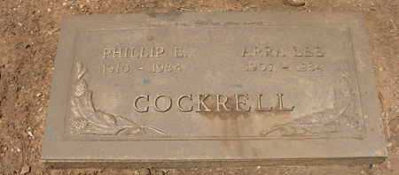 LEE COCKRELL, ARRA - Coconino County, Arizona | ARRA LEE COCKRELL - Arizona Gravestone Photos
